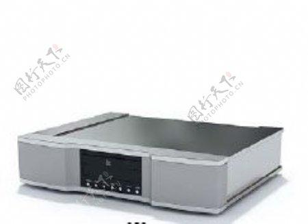影碟机3d模型电器模型图片8