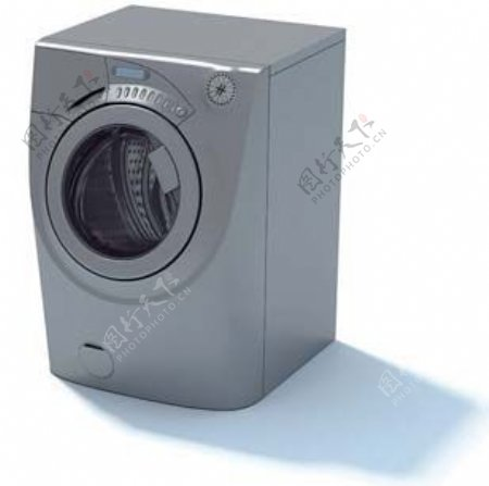 洗衣机3d模型电器模型图片5