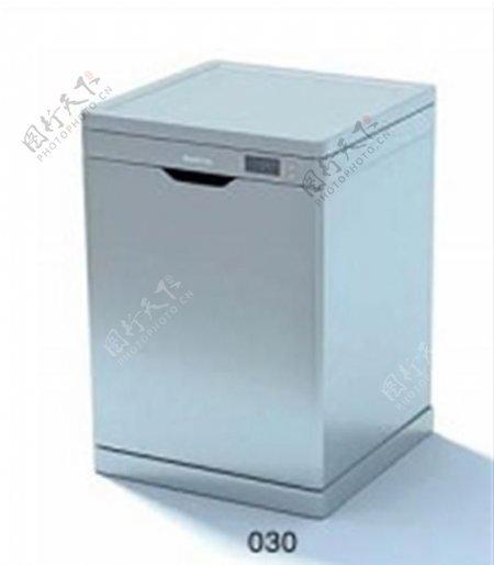3D电器模型4独立小冰柜