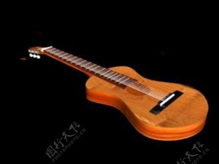 文化体育用品3d乐器模型电器模型5