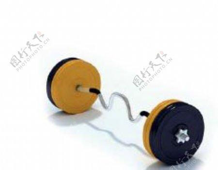 文化体育用品3d体育器材模型电器模型18