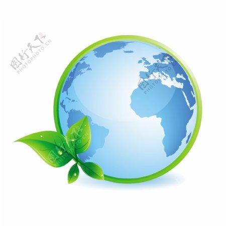 绿色地球概念