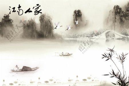 江南水墨海报