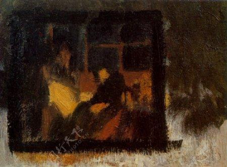 1899v西班牙画家巴勃罗毕加索抽象油画人物人体油画装饰画