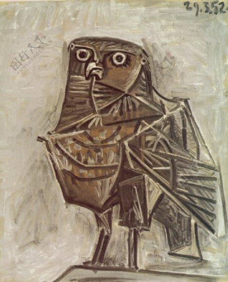1951Lehiboudelamort西班牙画家巴勃罗毕加索抽象油画人物人体油画装饰画