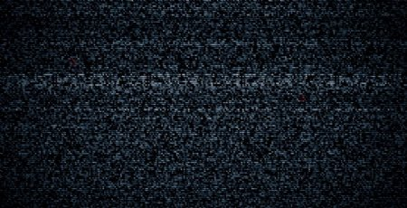 深蓝色噪点视频动画背景素材