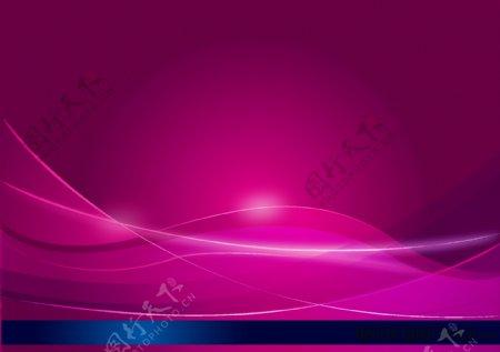 樱红色光束背景图片