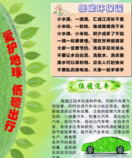 环境教育宣传图片