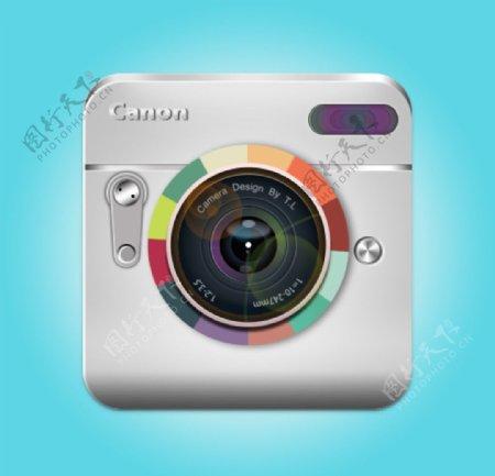 相机手机图标