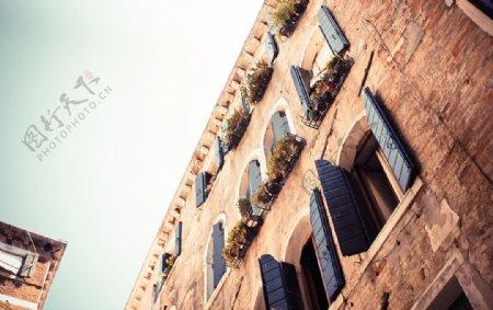 欧洲风格建筑外墙