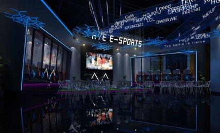 网咖网吧竞技区