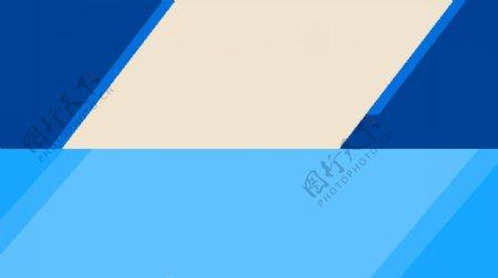 banner蓝色背景模板