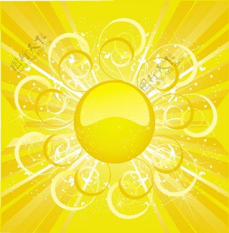 太阳背景4