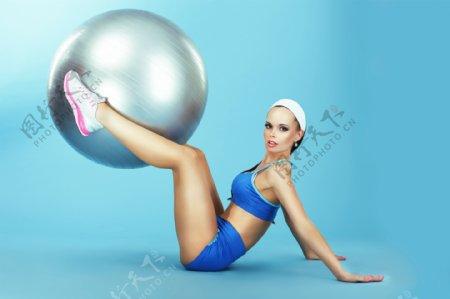 瑜伽美女人体艺术摄影