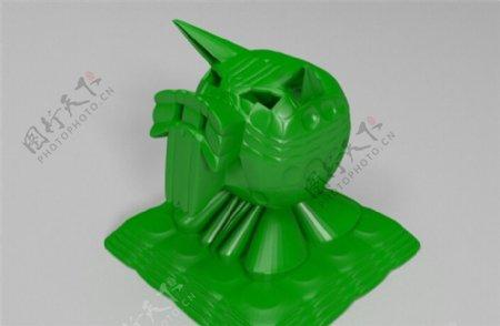 颅骨猪3D打印模型