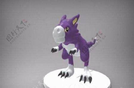 恐龙宝宝3D打印模型