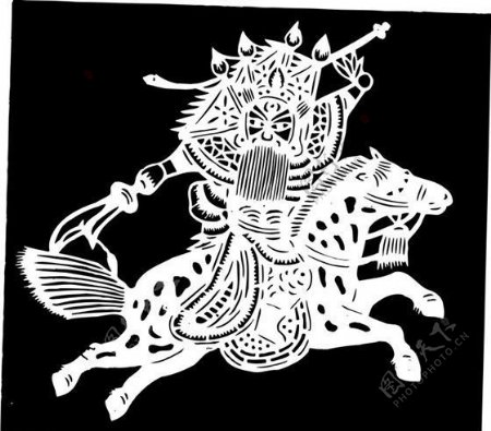 清代下版画装饰画中华图案五千年矢量AI格式1146