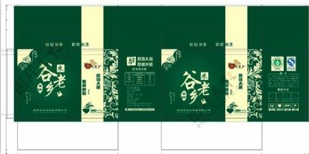 高端大米绿色包装