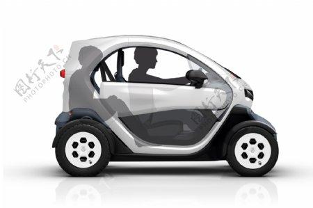 电动微型轿车图片