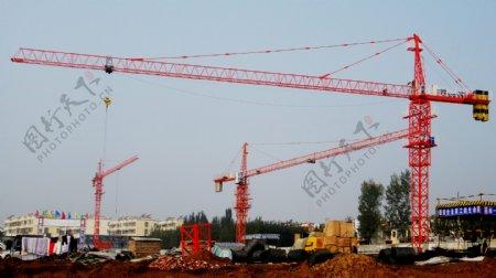 西村建设工地非高清图片