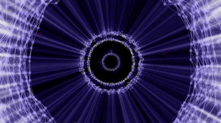 VJ光圈光线视觉循环素材