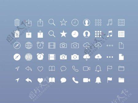 iOS应用Icons图标sketch素材