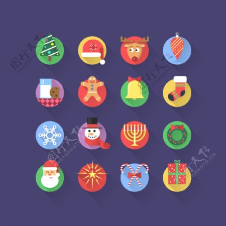 圣诞节icons