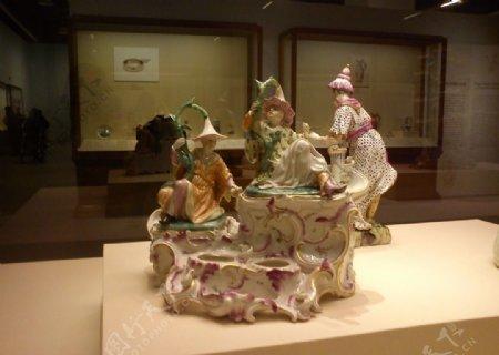 瓷塑甜品台