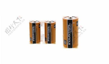 各种型号电池免抠png透明图层素材