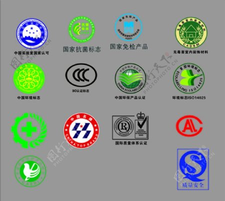 环保标识ISO质量环保标志