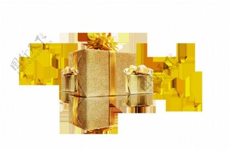 金色时尚礼物素材