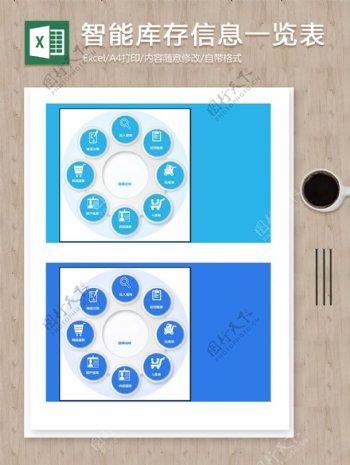 智能库存商品出入库信息查询记录excel图表系统