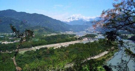 都江堰俯瞰图1