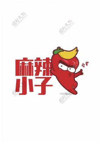 麻辣小子logo商标