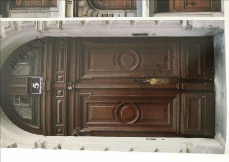 欧式别墅门