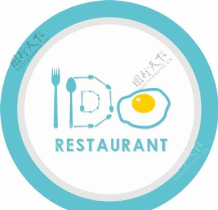 IDO餐厅LOGO