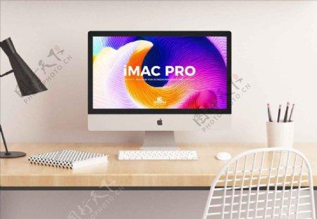 苹果imac电脑样机效果图