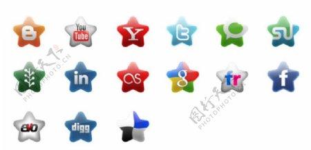 网络公司标志图标ICO格式