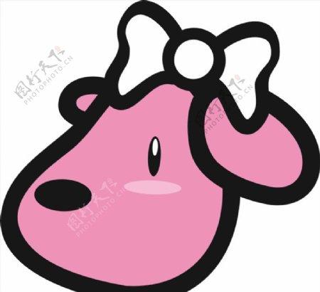 卡通动物图标标识