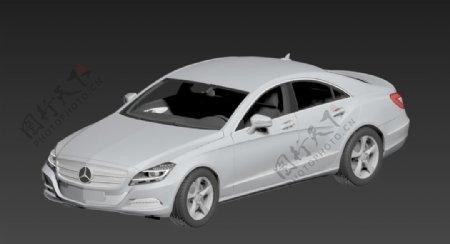 奔驰车max模型