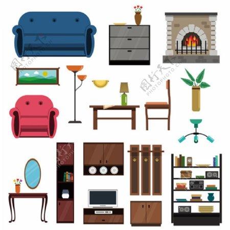 室内家具效果图组合max文件