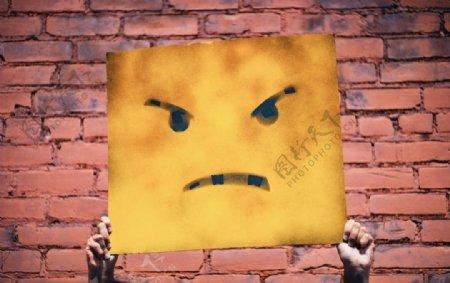 生气的表情