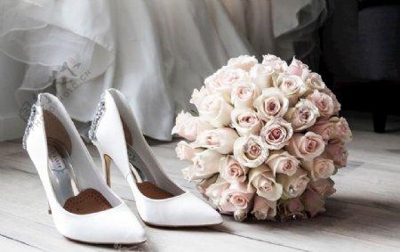 高跟鞋捧花