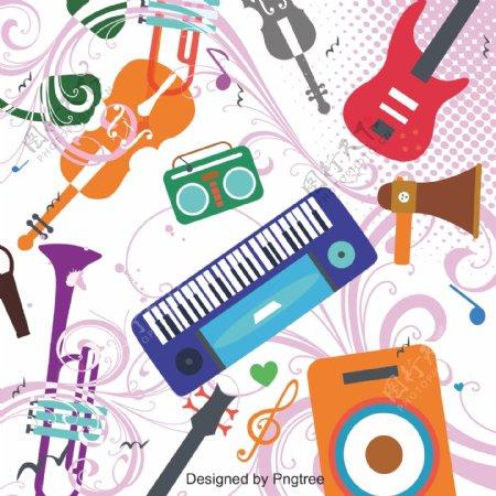 卡通非主流乐器音乐
