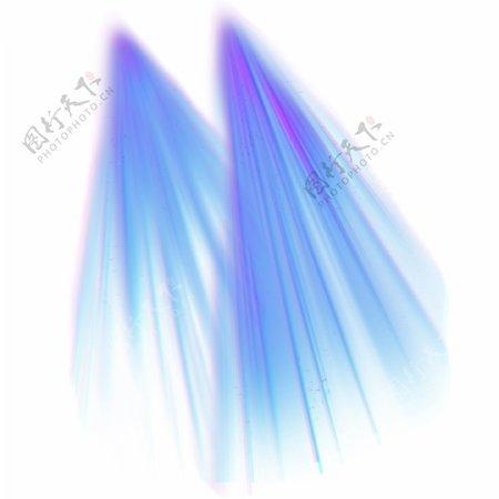 蓝紫色舞台灯光光束