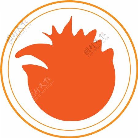 创意促销标签圆形标签电商成功标签