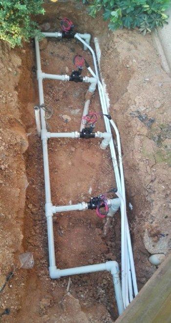 康催纽CU灌溉设备阀门安装