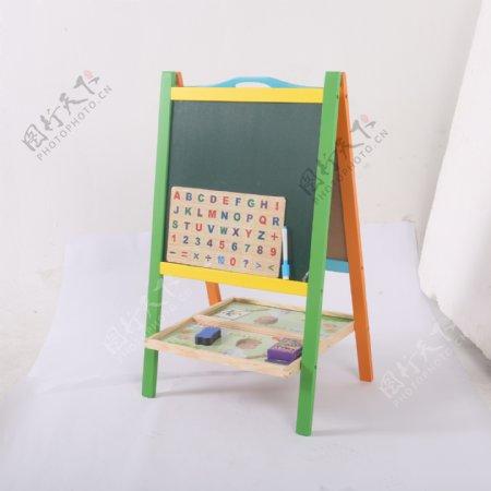 支架式儿童画画板磁性小黑板11