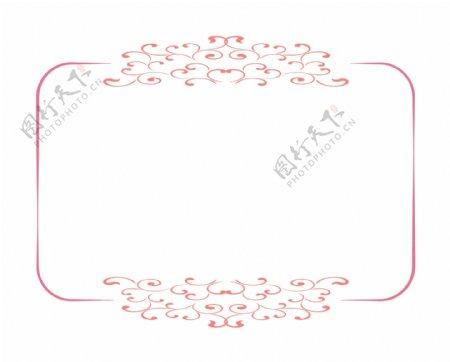 长方形纹理边框