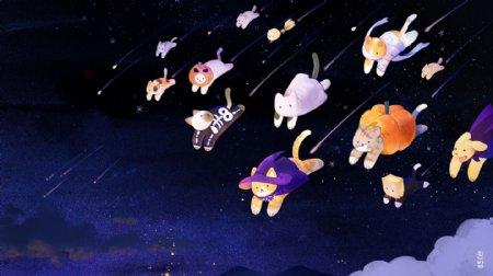 猫星人入侵插图